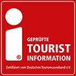 vom Deutschen Tourismusverband e.V. zertifiziert als geprüfte Tourist-Information
